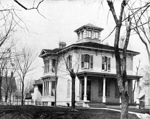 Rheuna Lawrence's Home circa 1902