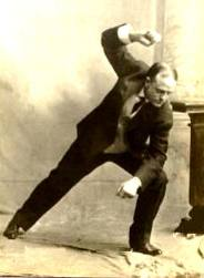 Billy Sunday in Action