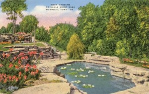 Eagle Point Park Rock Gardens (from Encyclopedia Dubuque)